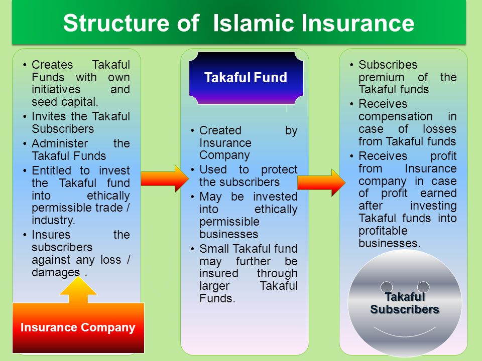 Structure of Islamic Insurance