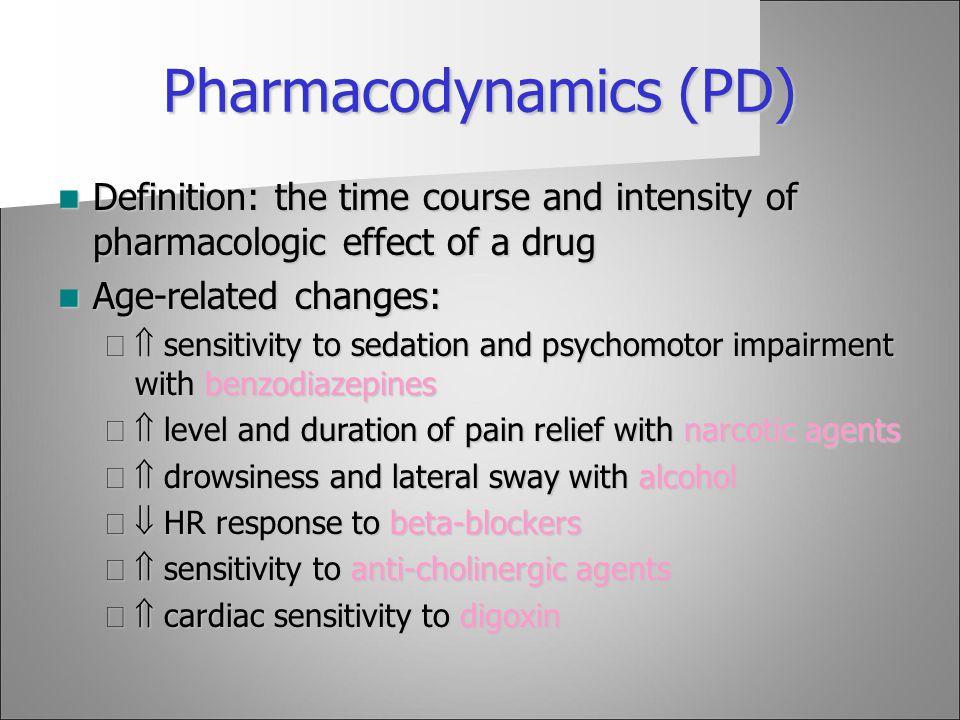 Pharmacodynamics (PD)