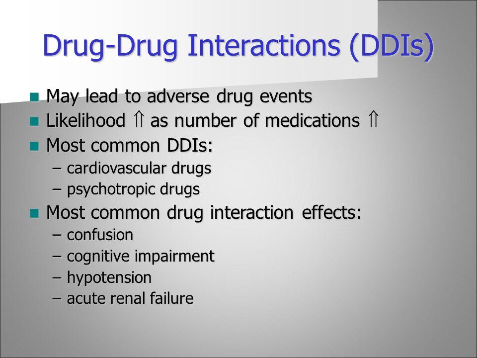Drug-Drug Interactions (DDIs)