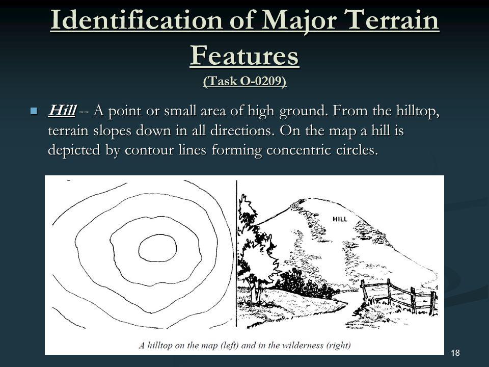 Identification of Major Terrain Features (Task O-0209)