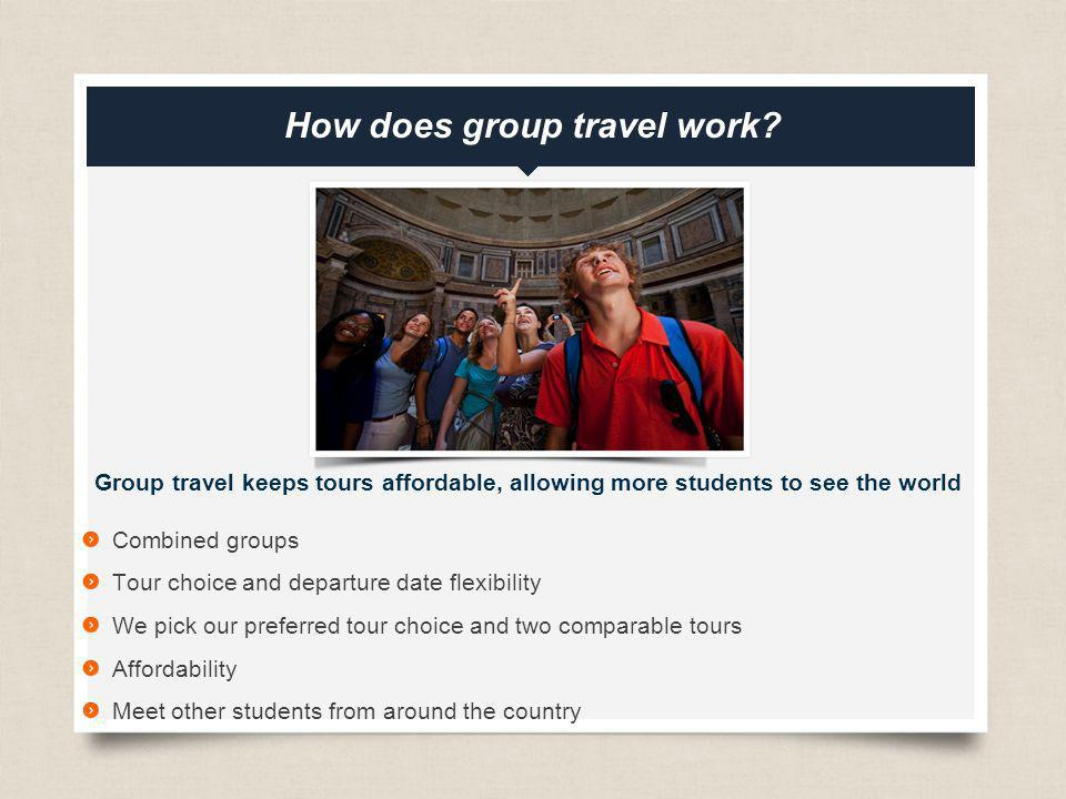 How does group travel work