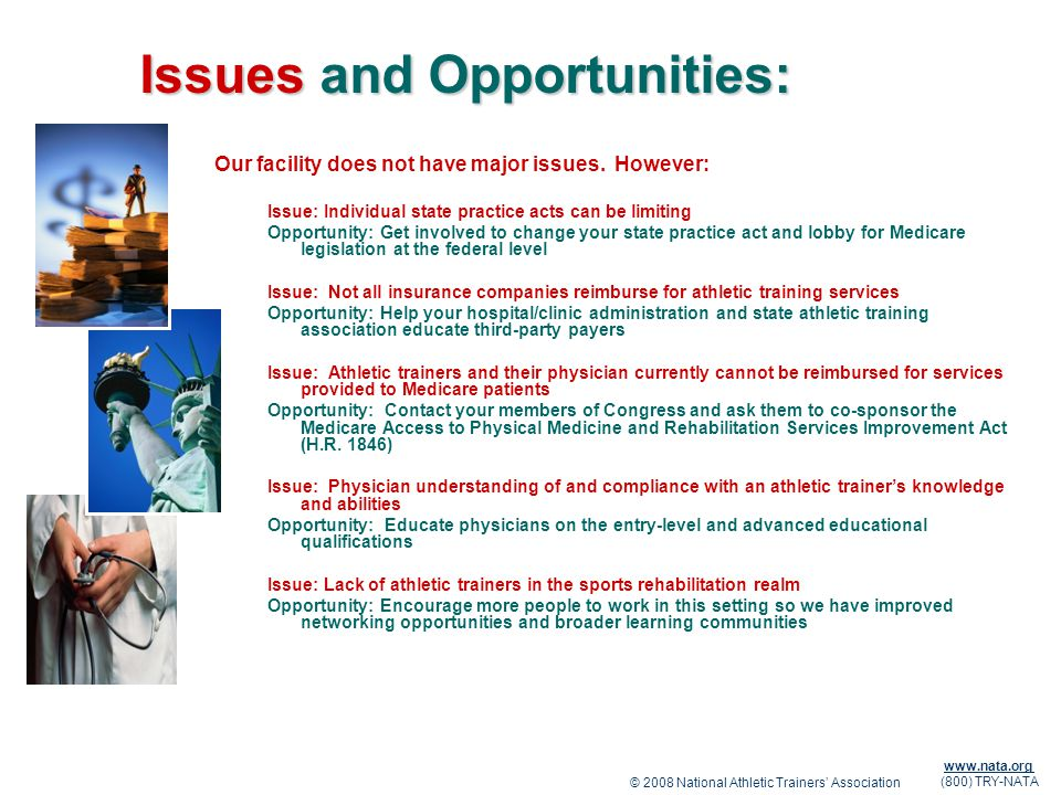 Issues and Opportunities: