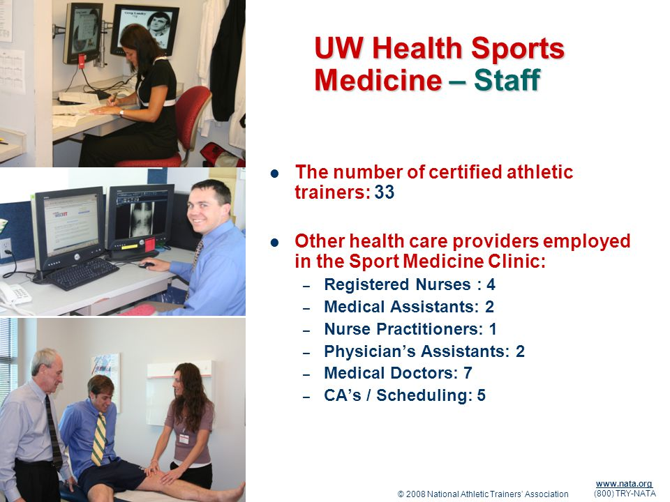 UW Health Sports Medicine – Staff