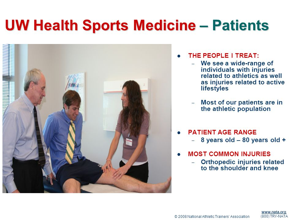 UW Health Sports Medicine – Patients