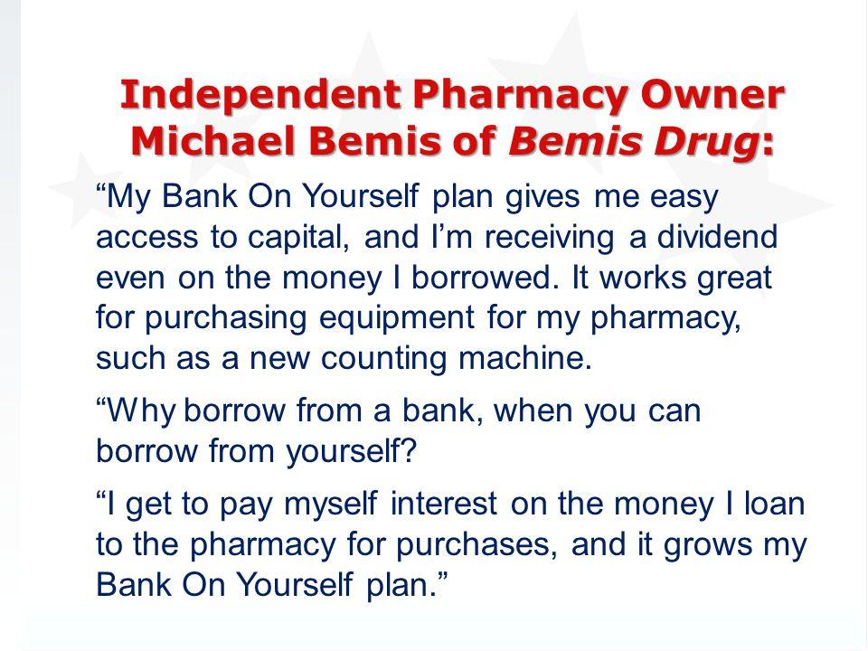 Independent Pharmacy Owner Michael Bemis of Bemis Drug: