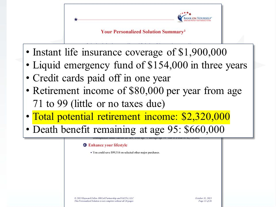 Instant life insurance coverage of $1,900,000