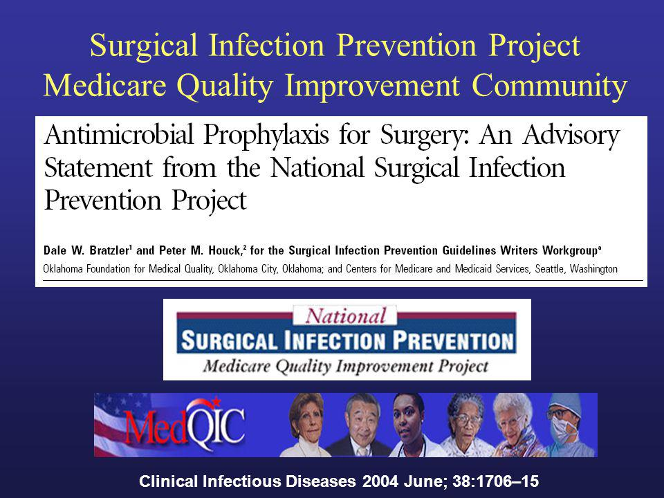 Surgical Infection Prevention Project Medicare Quality Improvement Community