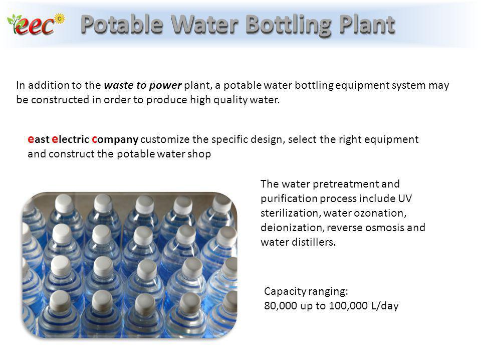 Potable Water Bottling Plant