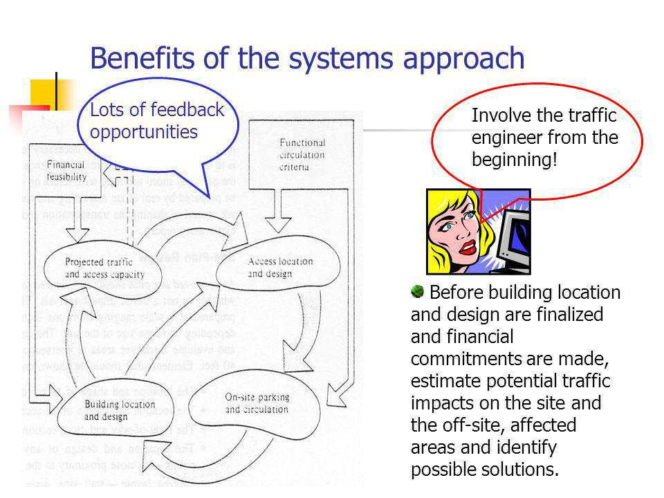 Benefits of the systems approach