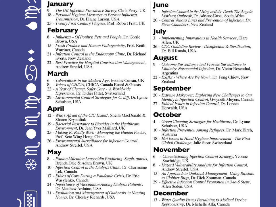 2007 Teleclass Schedule LLF 2006