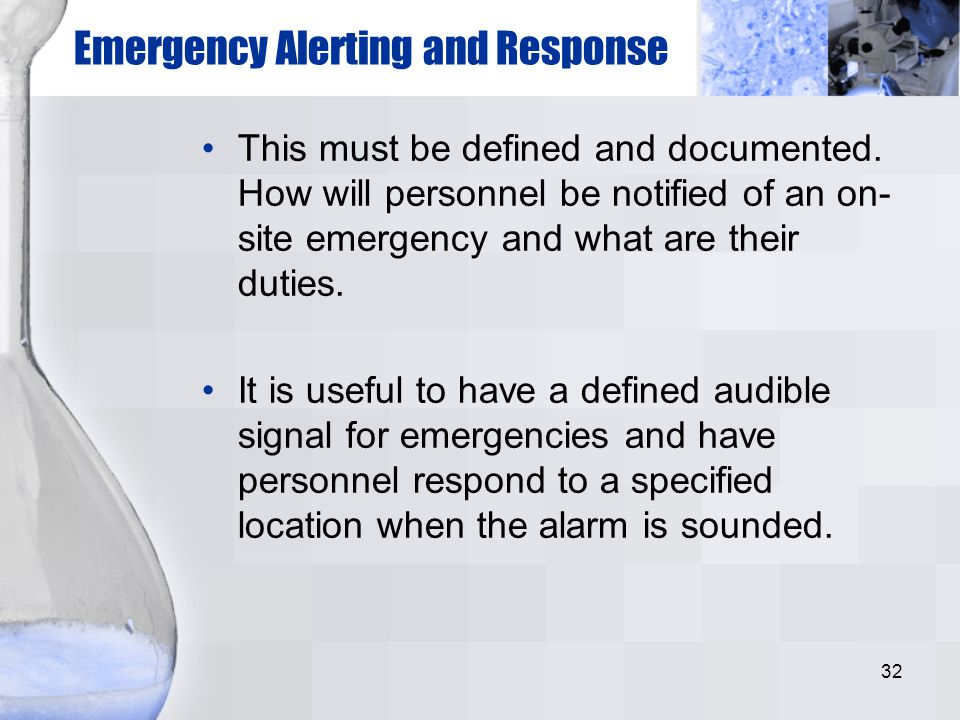 Emergency Alerting and Response