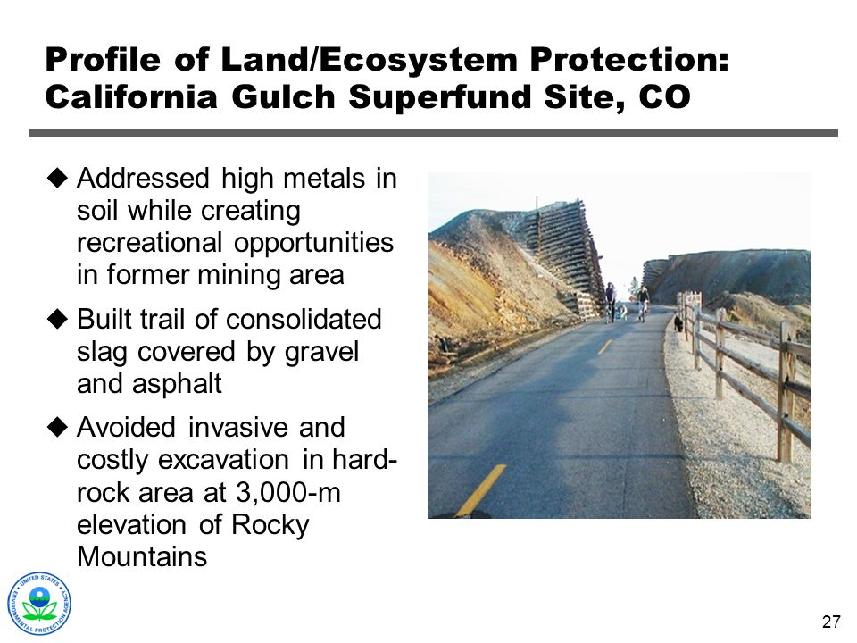 Profile of Land/Ecosystem Protection: California Gulch Superfund Site, CO