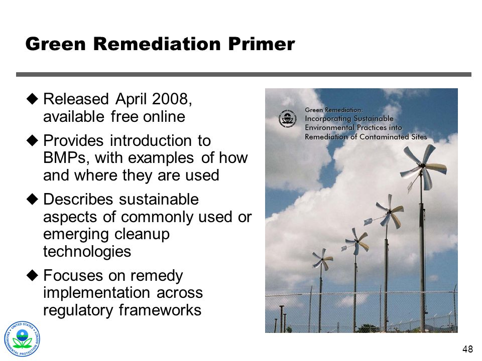 Green Remediation Primer