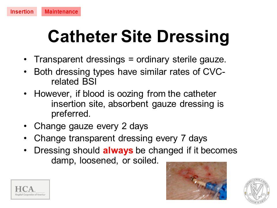 Catheter Site Dressing