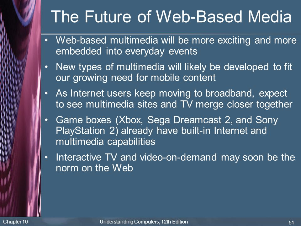 The Future of Web-Based Media