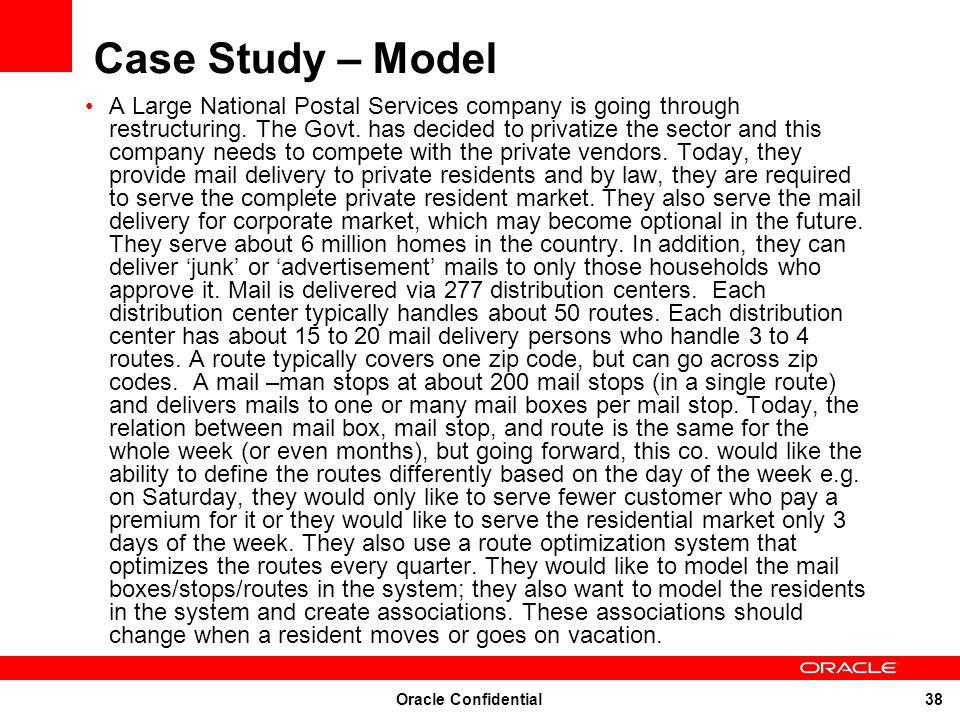 Case Study – Model
