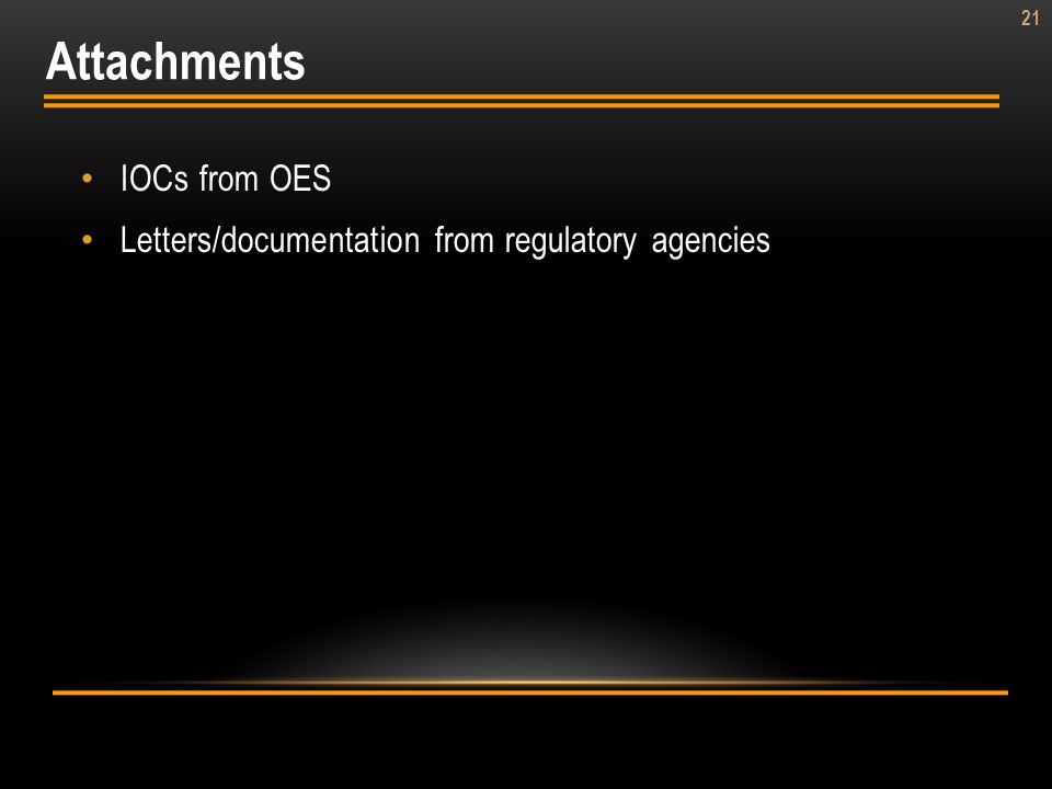 Attachments IOCs from OES