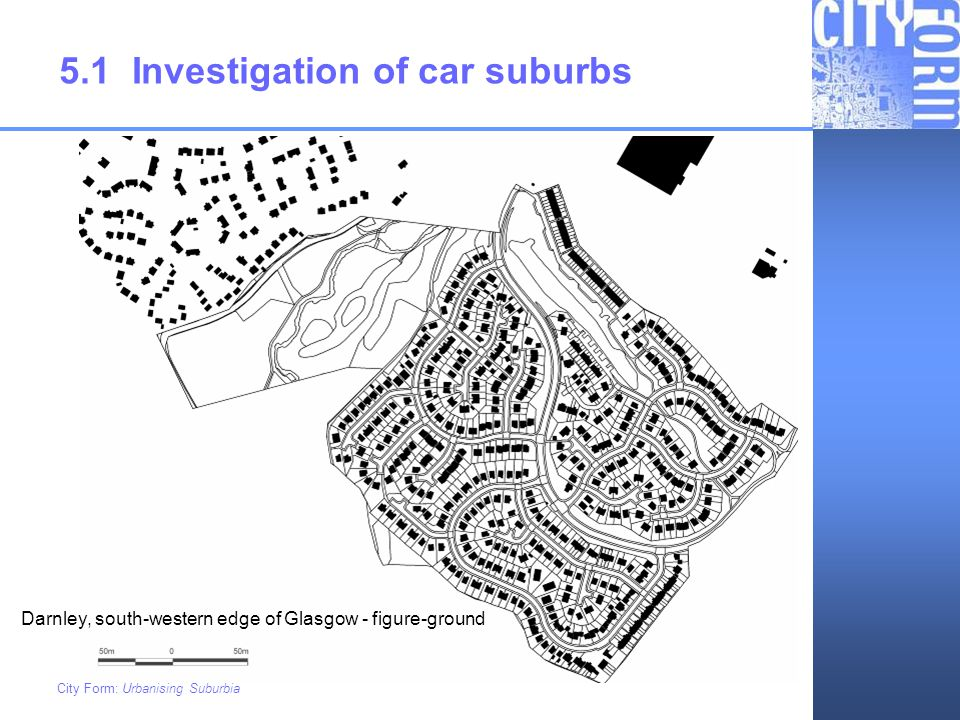 5.1 Investigation of car suburbs