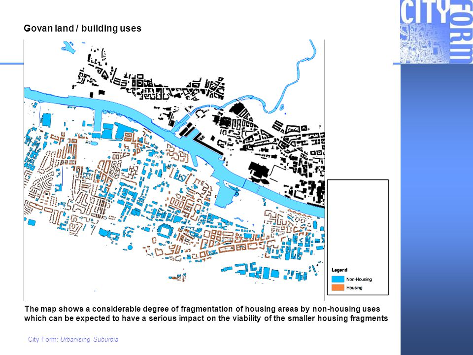 Govan land / building uses