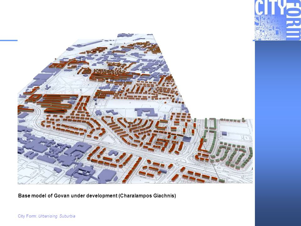 Base model of Govan under development (Charalampos Giachnis)
