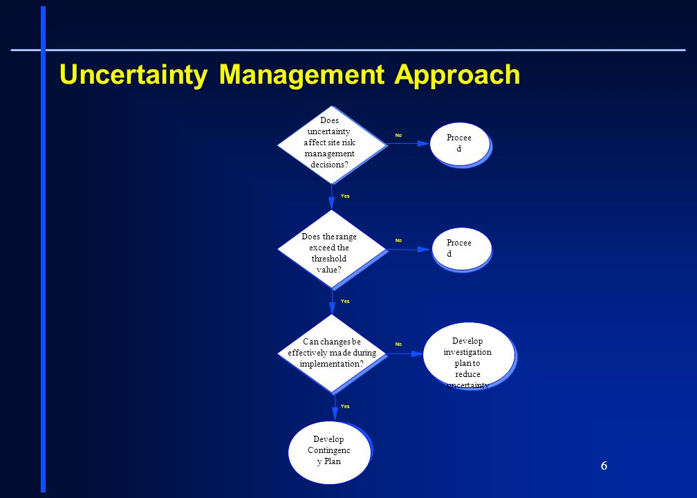 Uncertainty Management Approach