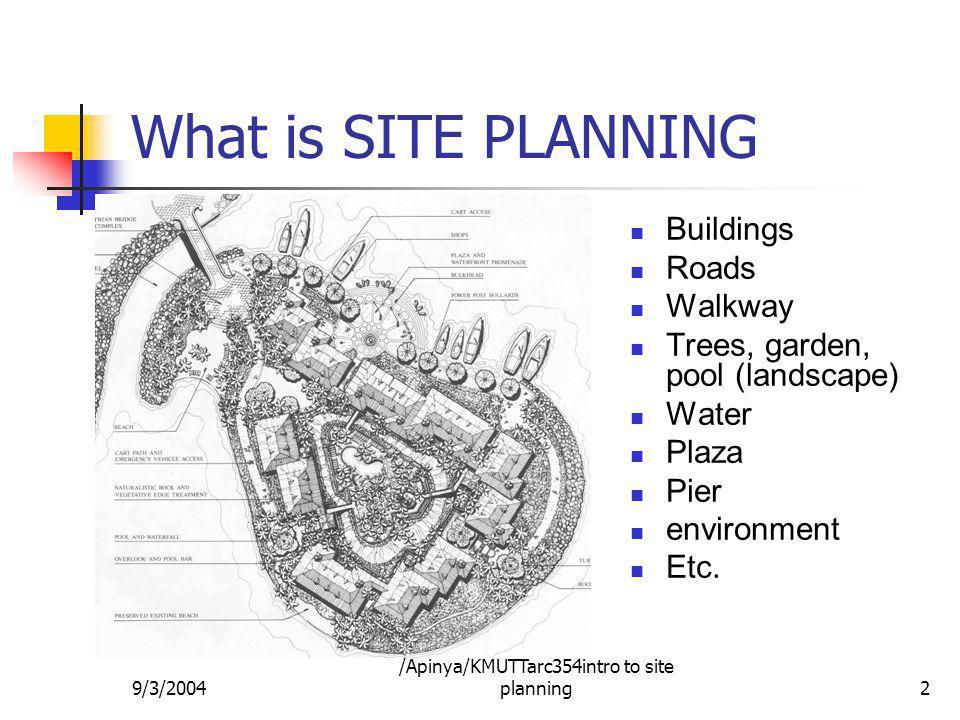 /Apinya/KMUTTarc354intro to site planning