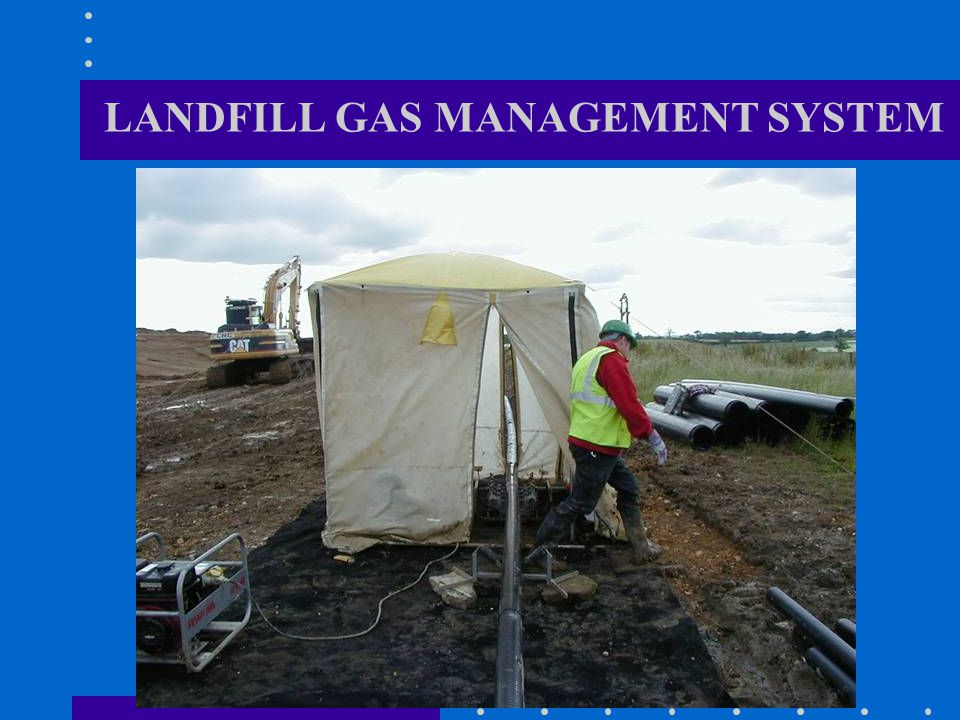 LANDFILL GAS MANAGEMENT SYSTEM