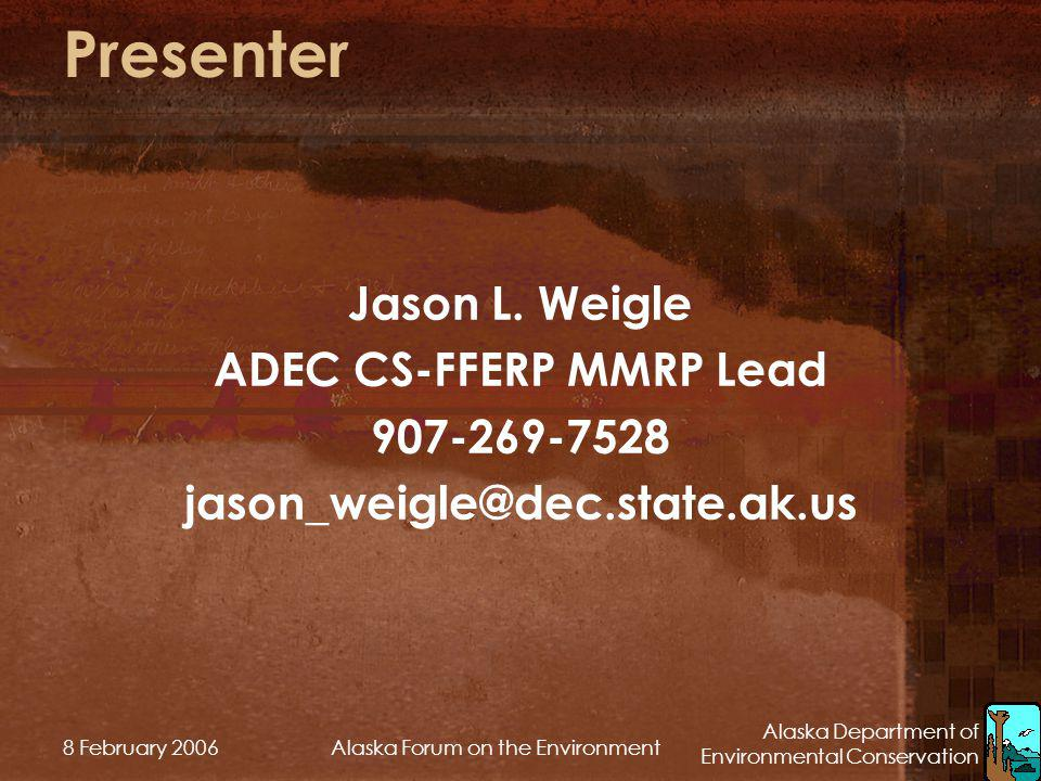ADEC CS-FFERP MMRP Lead