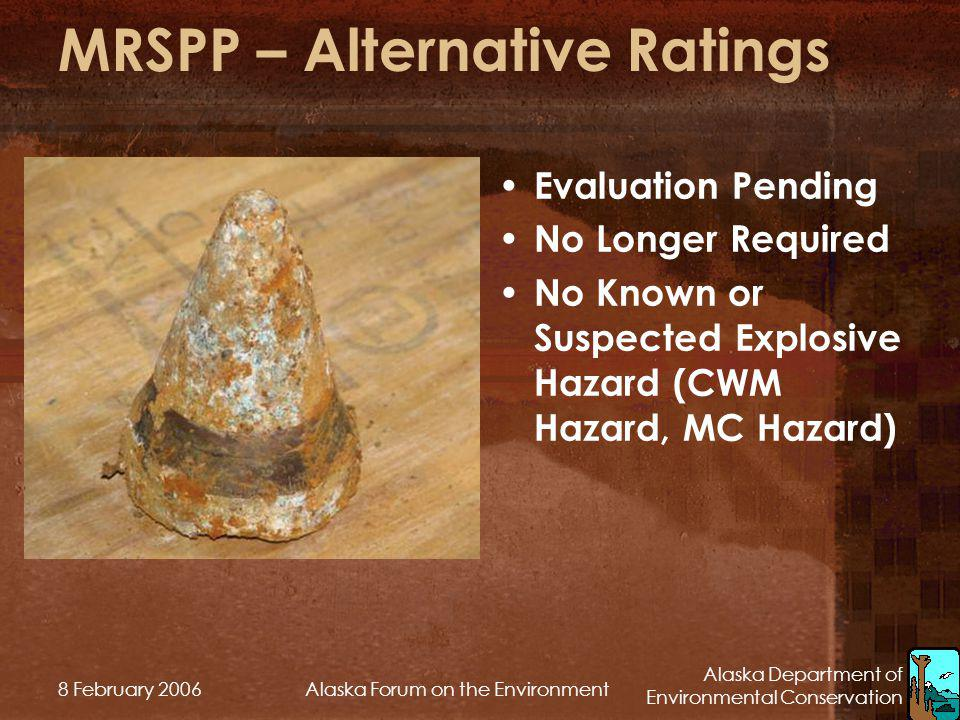 MRSPP – Alternative Ratings