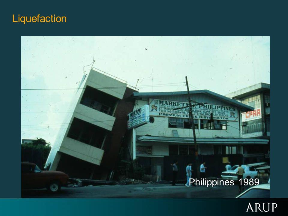 Liquefaction Philippines 1989