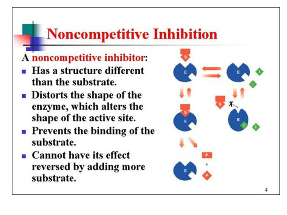 Enzyme Inhibitors Noncompetitive