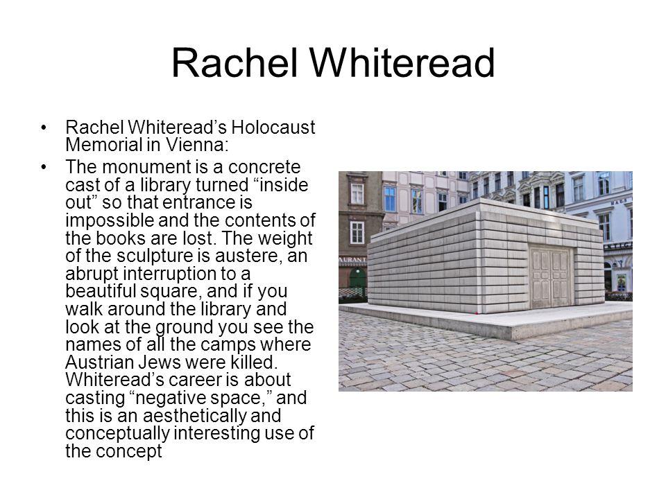 Rachel Whiteread Rachel Whiteread's Holocaust Memorial in Vienna: