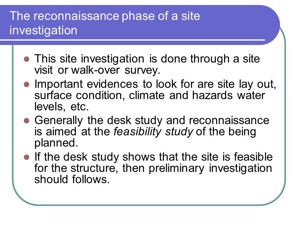 Site Investigation Ppt Video Online Download