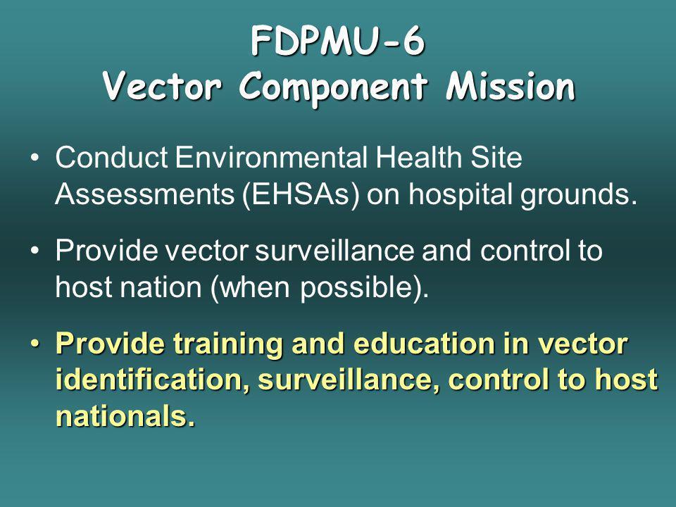 FDPMU-6 Vector Component Mission