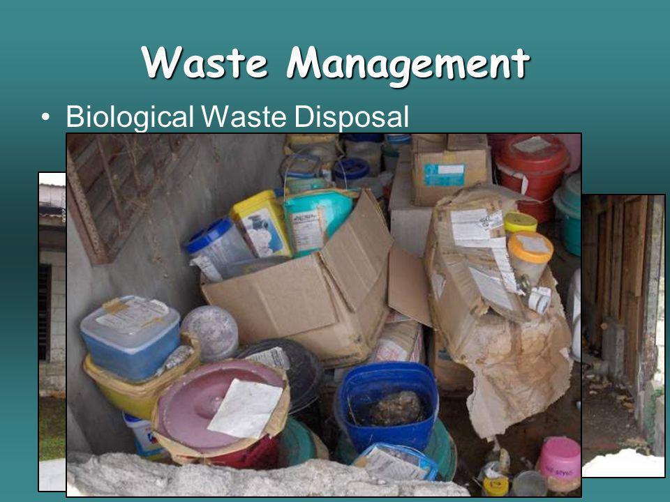 Waste Management Biological Waste Disposal