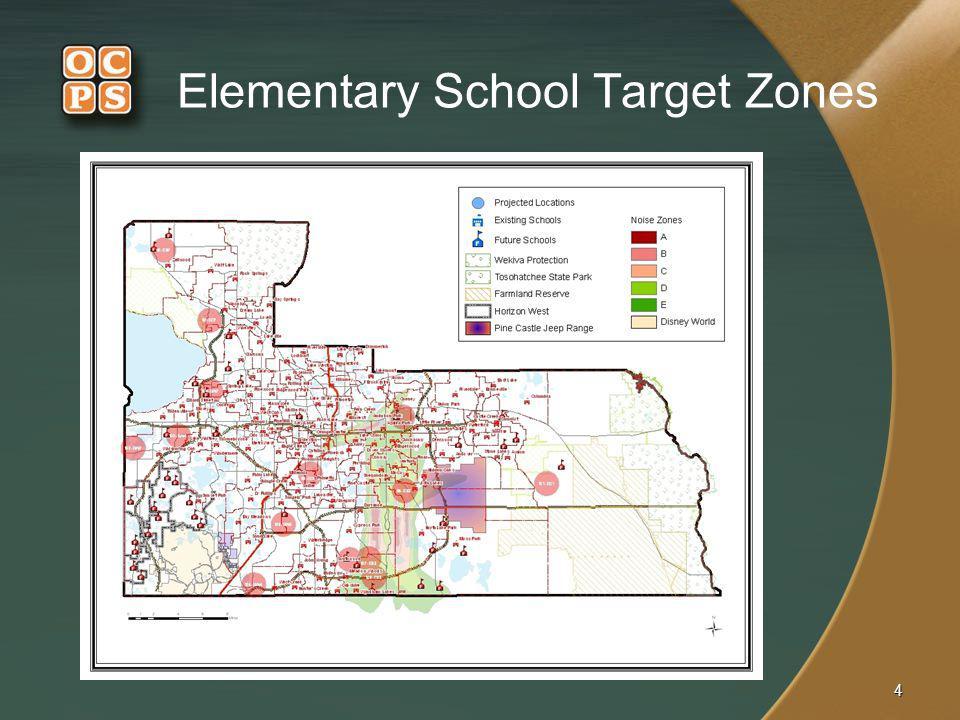 Elementary School Target Zones