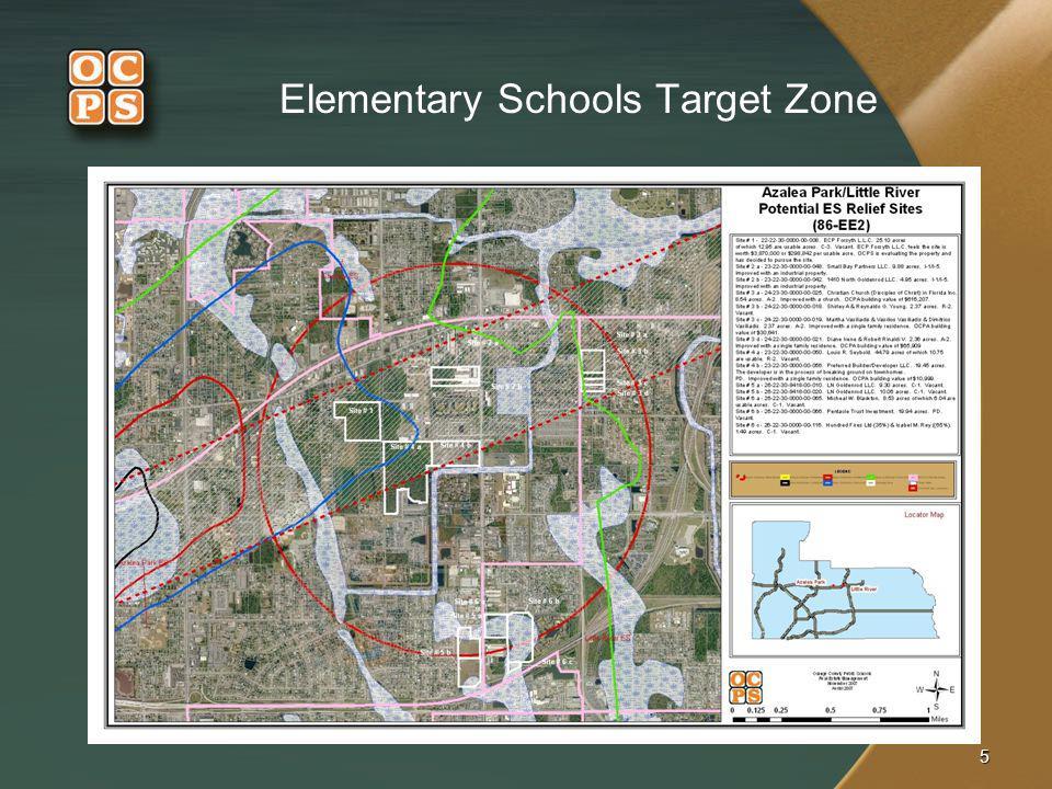Elementary Schools Target Zone