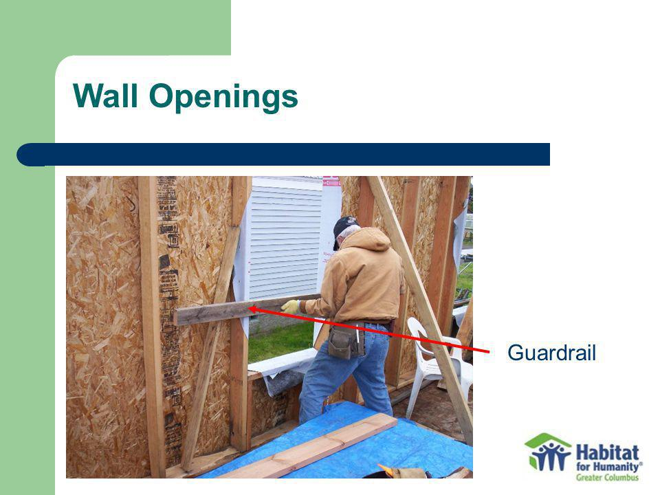 Wall Openings Guardrail