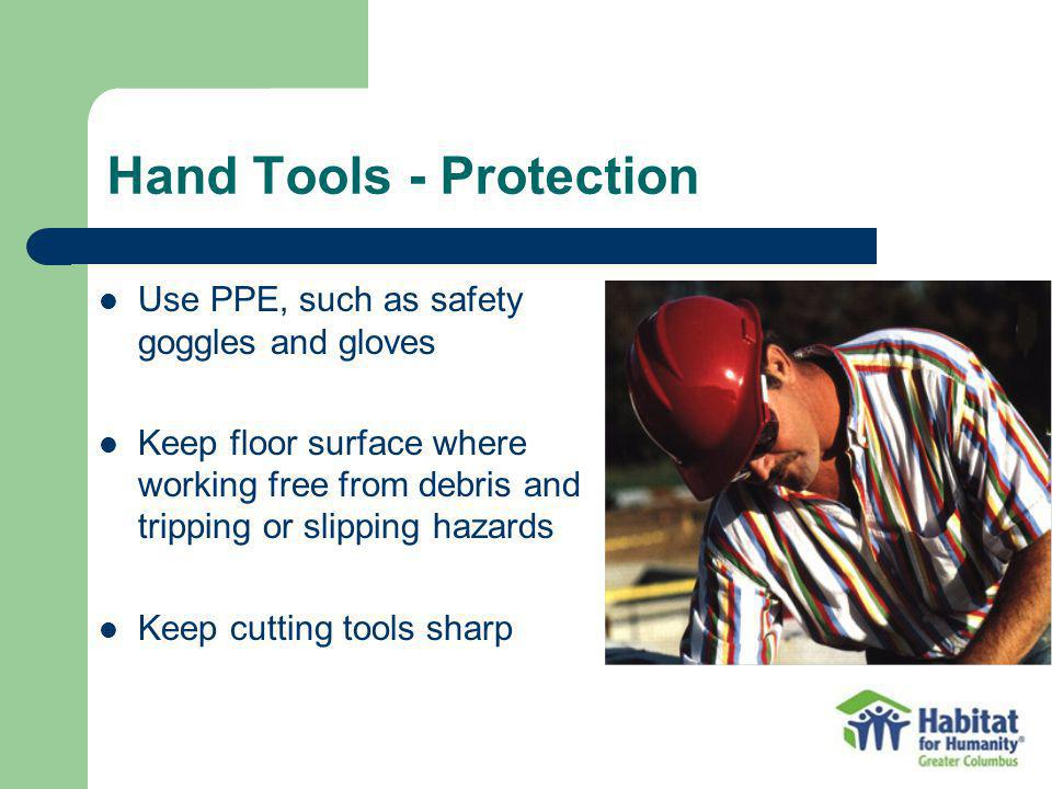 Hand Tools - Protection