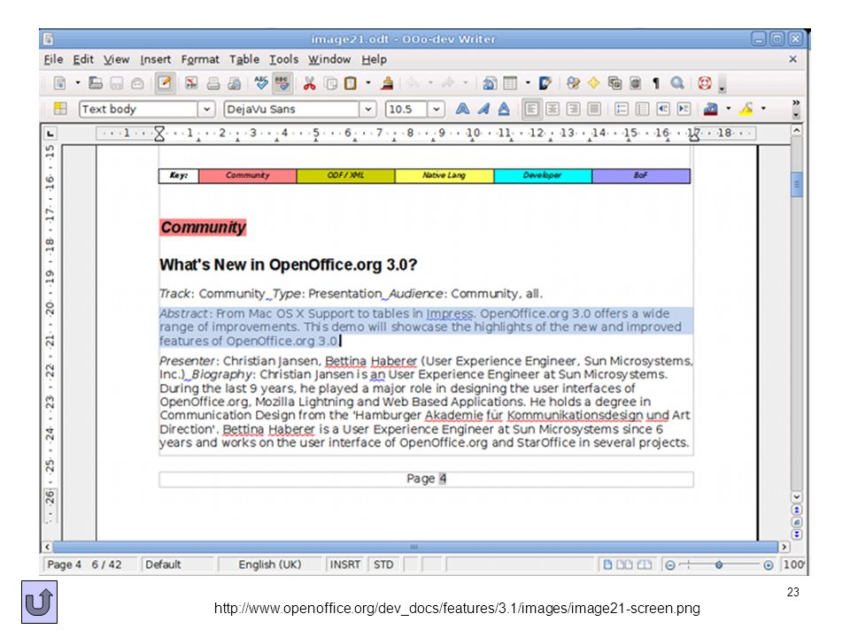 http://www. openoffice. org/dev_docs/features/3