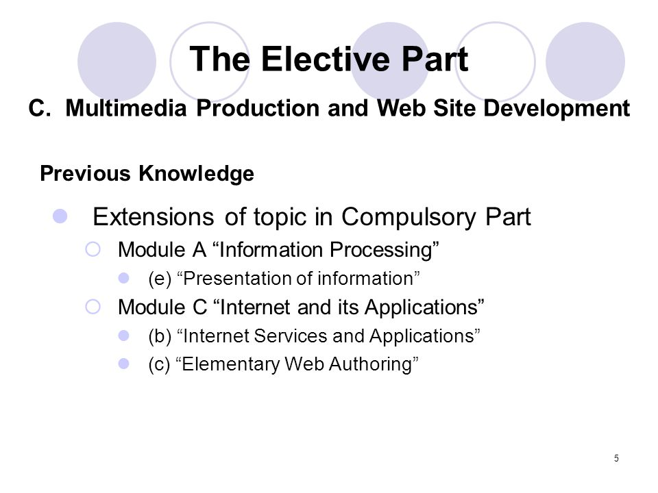 C. Multimedia Production and Web Site Development