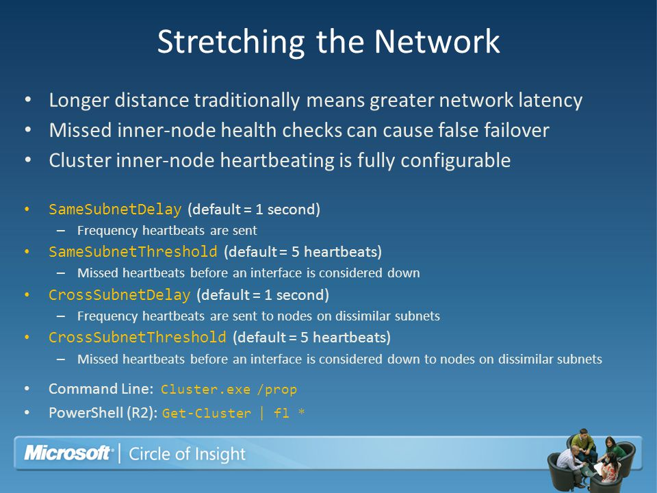 Stretching the Network