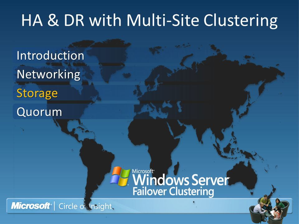 HA & DR with Multi-Site Clustering