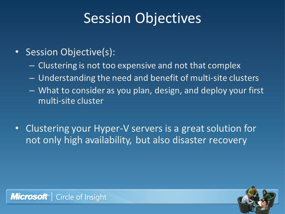 Session Objectives Session Objective(s):