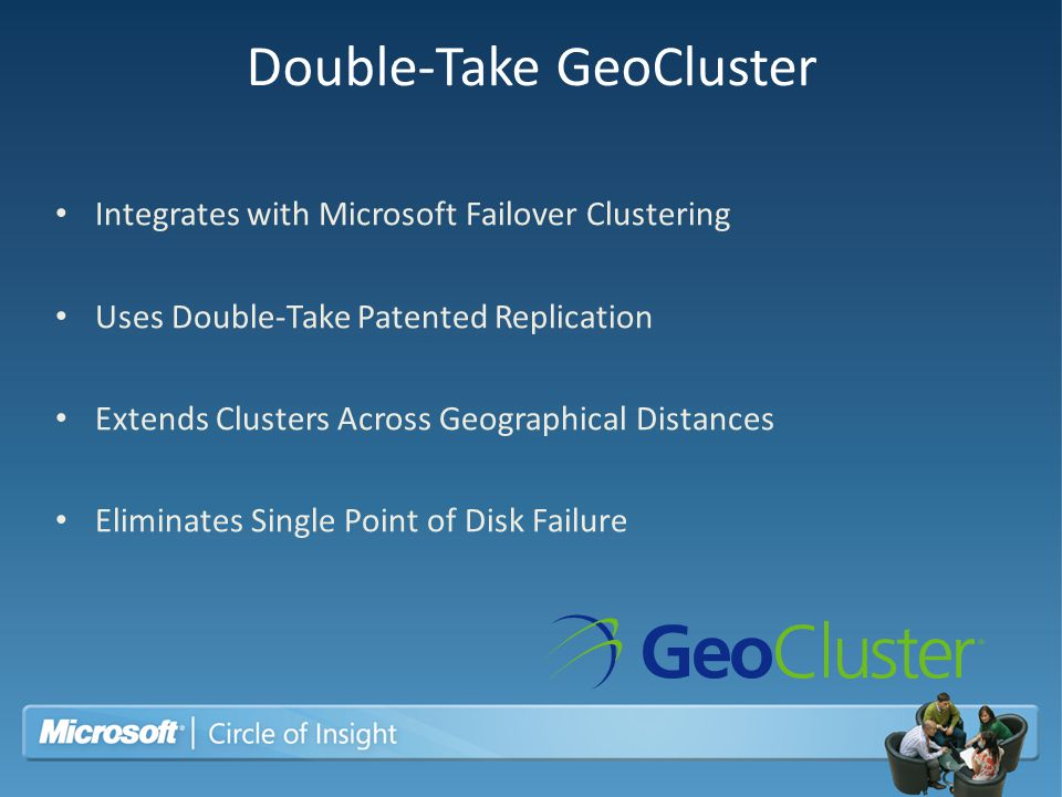Double-Take GeoCluster