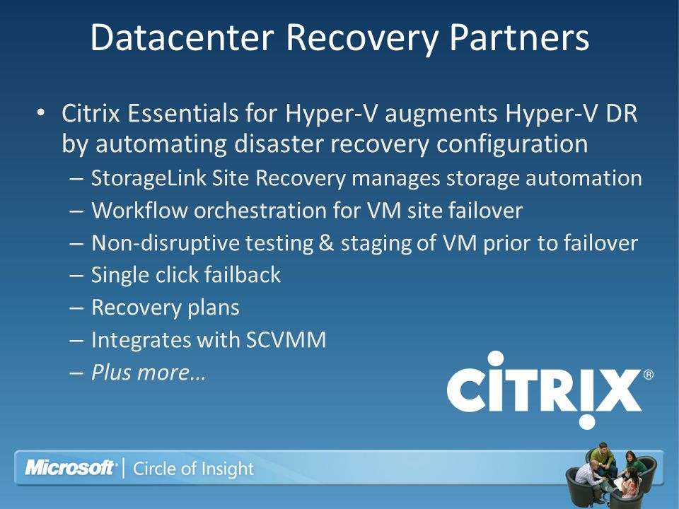 Datacenter Recovery Partners