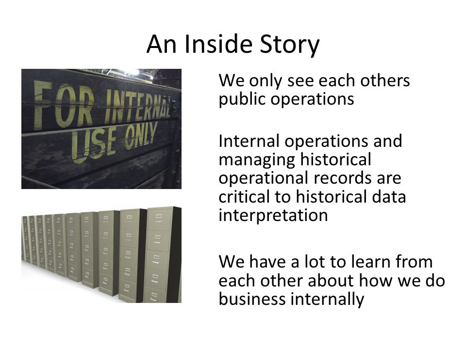 An Inside Story