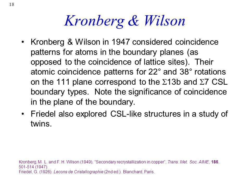 Kronberg & Wilson