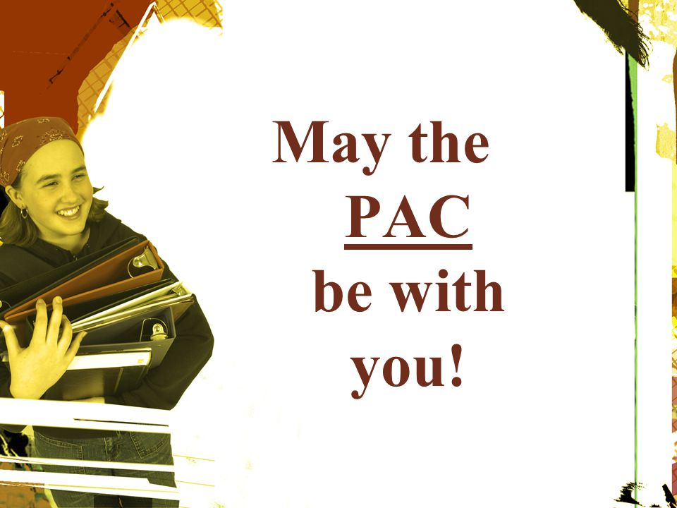 May the PAC be with you!