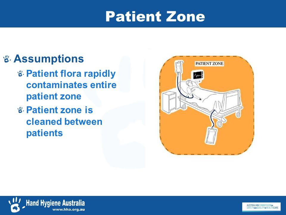 Patient Zone Assumptions